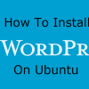 install wordpress on ubuntu8