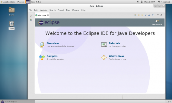 Linux:在 CentOS 7 / RHEL 7 上怎样安装 Eclipse Luna IDE