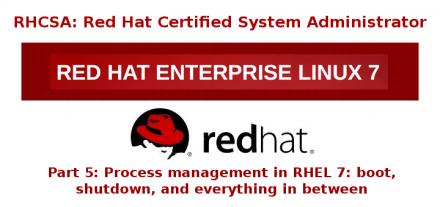 RHCSA 系列(五): RHEL7 中的进程管理:开机,关机