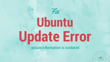 "Ubuntu 14.04中修复""update information is outdated""错误"